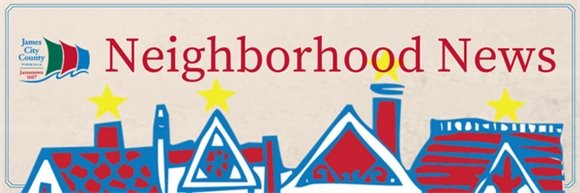 Neighborhood News title banner