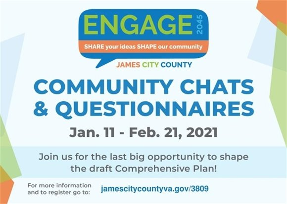 Engage 2045: Community Chats & Questionnaires