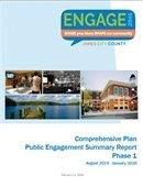Public Engagement Summary Report: Phase 1