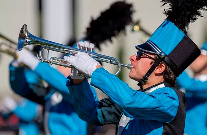 Warhill Classic Marching Band Competition (Photo by Virginia Marching Band Cooperative)