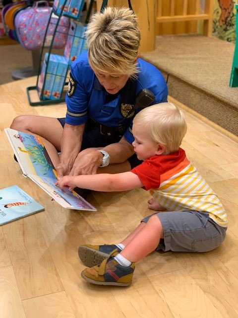 Coloring with a cop barnes noble - permission received by email on 8.7.19