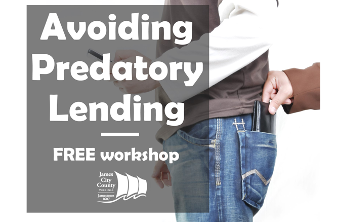 Avoiding Predatory Lending Free Workshop