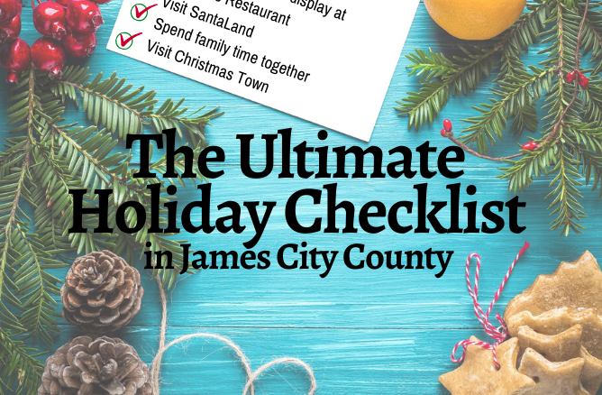 James City County Holiday Checklist