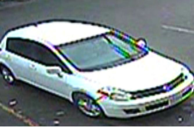 Larceny & Fraud suspect vehicle