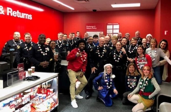 Shop With a Cop Group Photo 2019