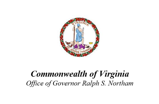 commonweath of virginia office of governor ralph s northam