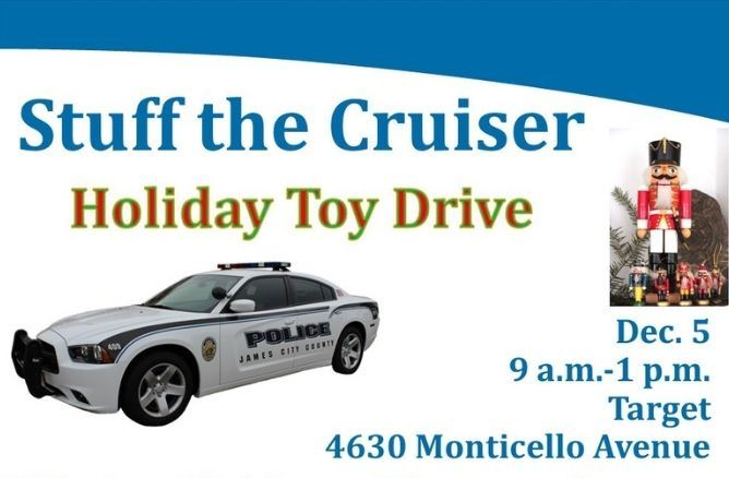 Stuff the cruiser toy drive