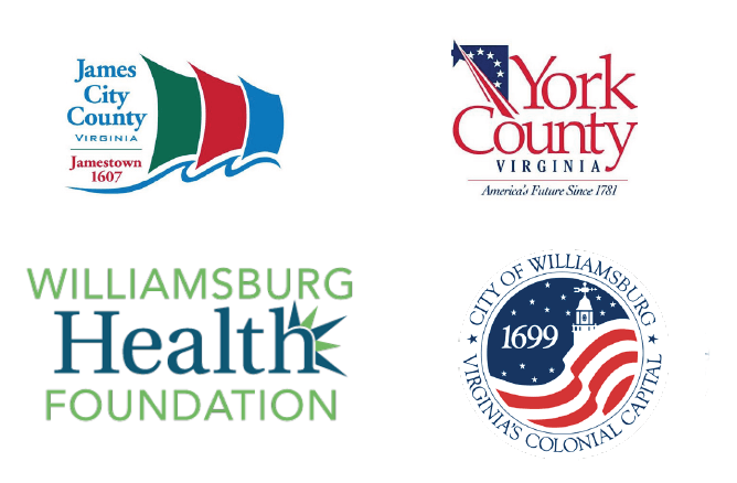 james city county york county williamsburg health foundation city of williamsburg logos