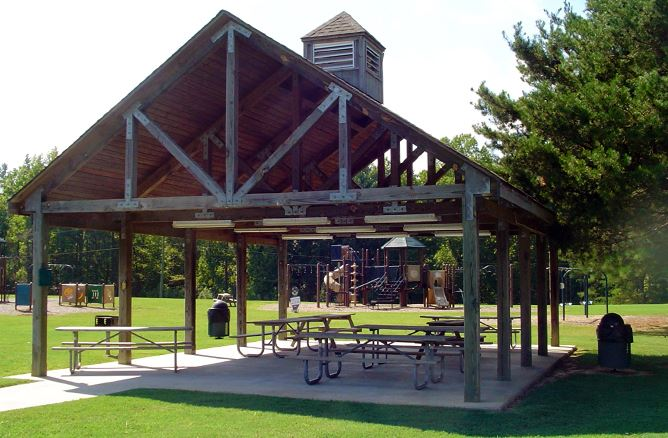 Upper County Park Picnic Shelter